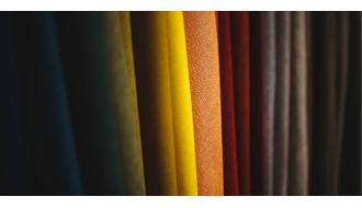 Однотонные шторы от студии штор Textil-House