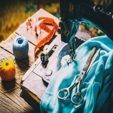 Пошив штор и интерьерного декора на заказ
