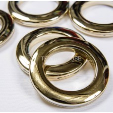 Люверс золото блестящее 35 мм