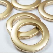 Люверс золотой  35 мм