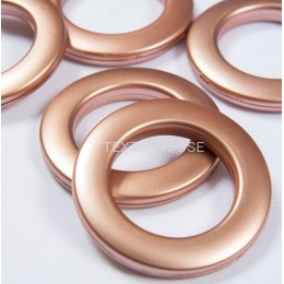Люверс розовый 35 мм