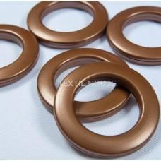 Люверс коричневый  35 мм