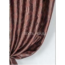 Ткань для штор блэкаут Монте Карло  шоколад