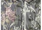 Гардина натуральный деворе крупный цветок