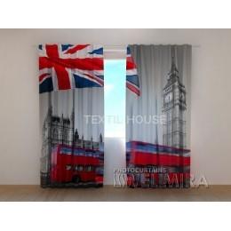 Фотоштора 3D Британский флаг