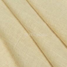 """Тюль лен золотисто-пшеничный """"Кассиопия""""  в. 300 см с утяж"""
