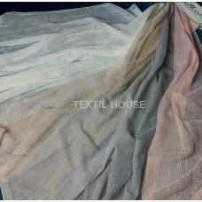 Тюль мешковина лен Турция