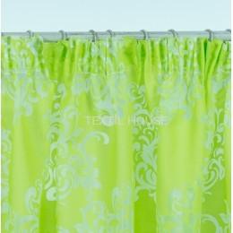 Тесьма прозрачная для тюлей и штор 6 см шириной