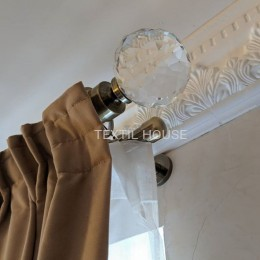 Тесьма матовая 6 см шириной для тюлей и штор