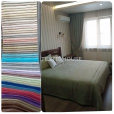 Ткань для штор на отрез двухсторонний софт Турция
