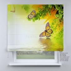 Римская штора Бабочки