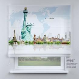 Римская штора Статуя свободы