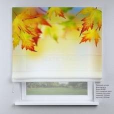 Римская штора Осенние листья