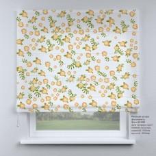 Римская штора  Цветочный принт №2