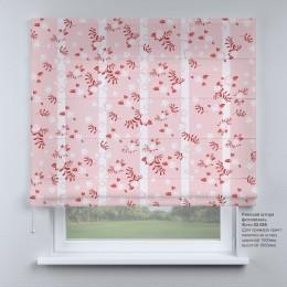 Римская штора  Цветочный принт №3