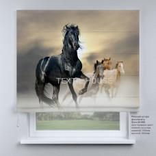 Римская штора  Лошадь