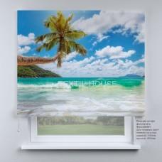 Римская штора Райский пляж