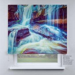 Римская штора Водопады