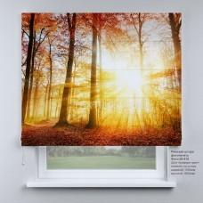 Римская штора Солнечный лес