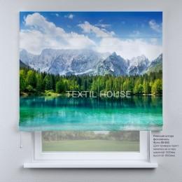 Римская штора Горное озеро