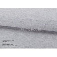Римская штора с кантом ткань лен ш. 0,50 м