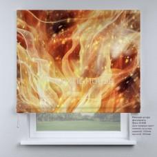 Римская штора Пламя