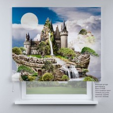 Римская штора Сказочный замок