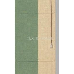 Римская штора лен с кантами ш. 60 см