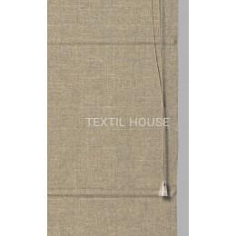 Римская штора лен ширина 80 см