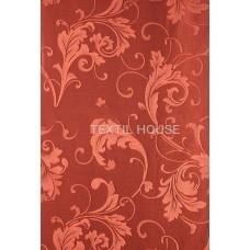 Ткань для штор сатен терракот  T3717-7/280 PJak