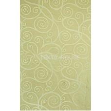 Ткань для штор сатен жаккард салатовый T3716-6/280 PJak