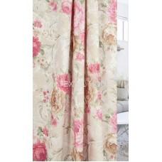 Штора жаккард Розарий розовый ш. 150 см