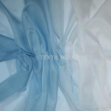 Тюль вуаль Карнавал голубой 2,8 м высота