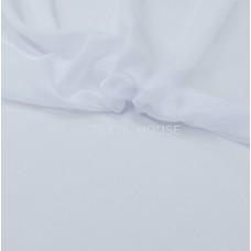 Шифон (вуаль) однотонный белый