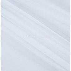 Тюль вуаль однотон. белый