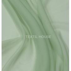 Шифон (вуаль) однотонный бледно зеленый  в. 290 см