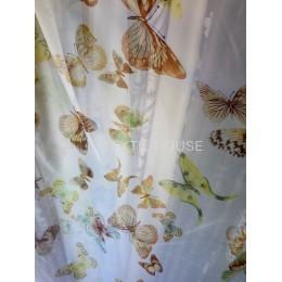 Тюль бабочки бежевые VP3752-3/280 VPech